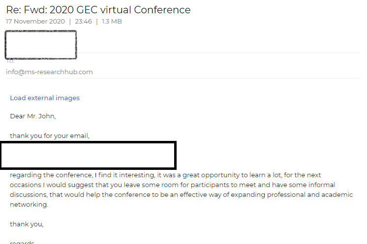 Review-conference